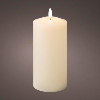 LED wick church candle wax BO indoor (Large)
