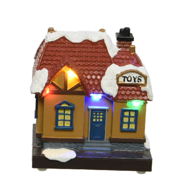 Micro LED scenery plastic house steady BO indoor - Toy Shop