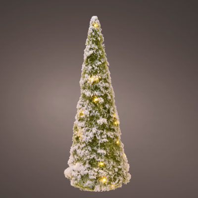 Micro LED cone gb tinsel cone steady indoor