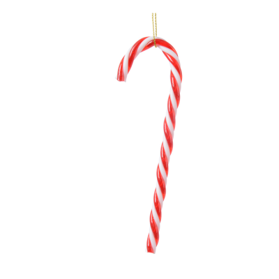 Candy stick plastic candy stick - Red & White