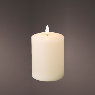 LED wick church candle wax BO indoor (Small)